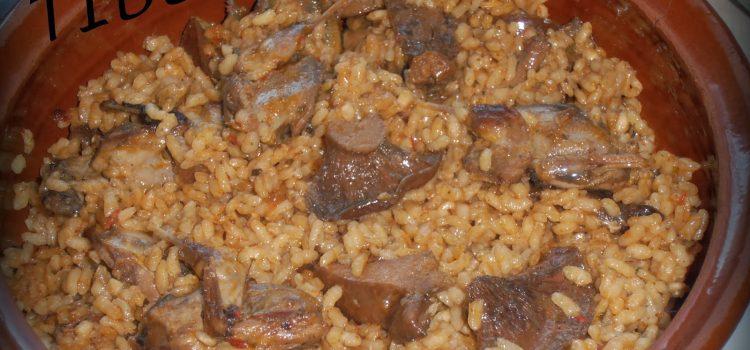 Cuina menorquina - Arròs amb tords i esclatasangs