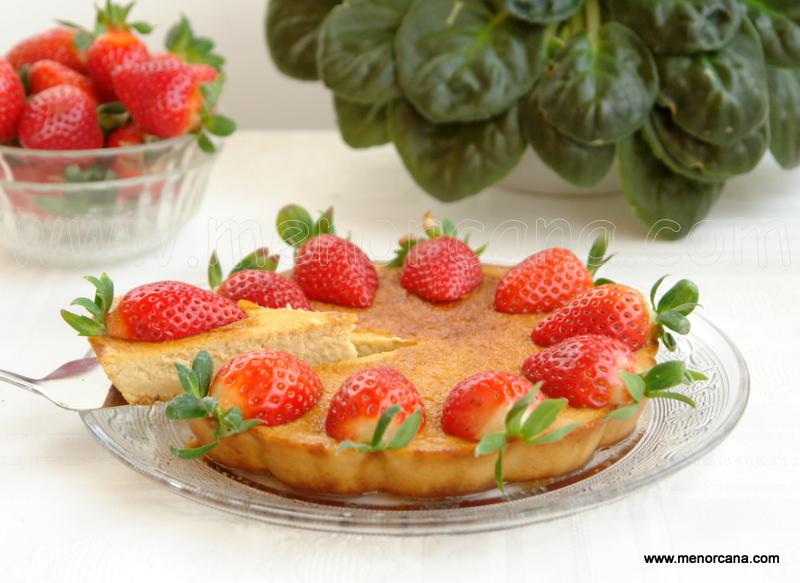 Cómo preparar tarta de queso sin lactosa y sin gluten