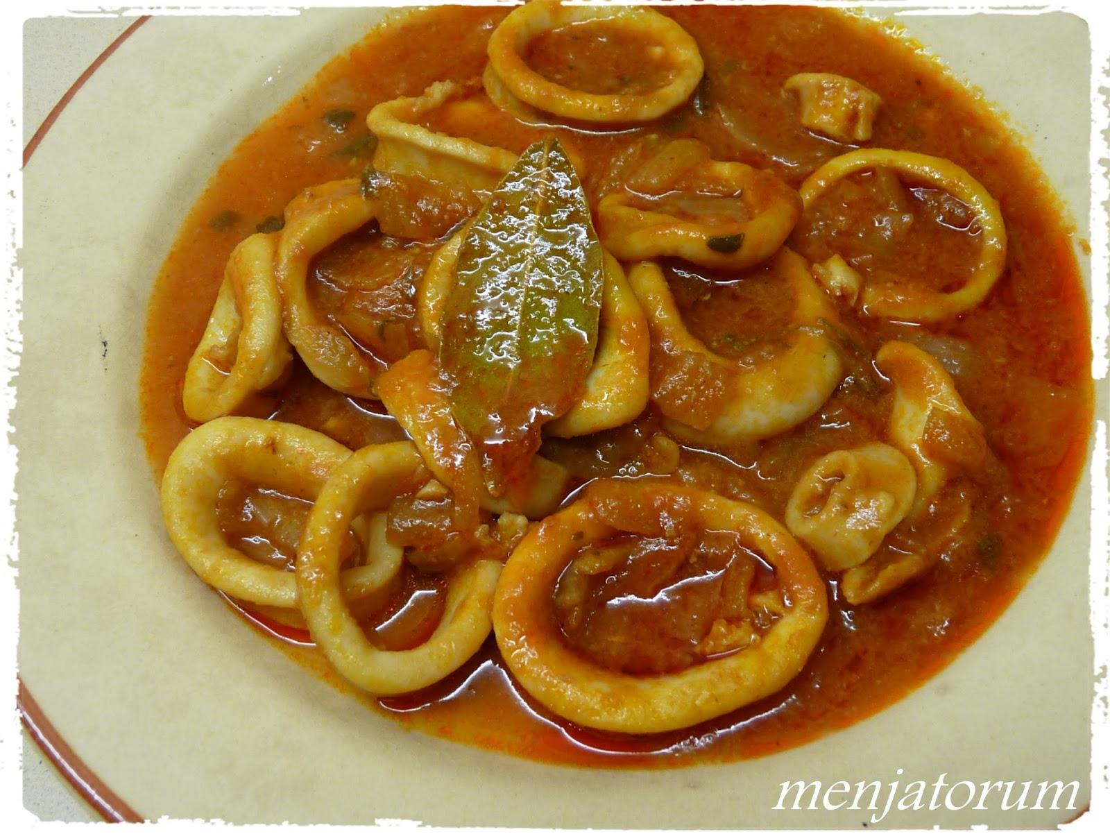 Cómo preparar calamares en salsa