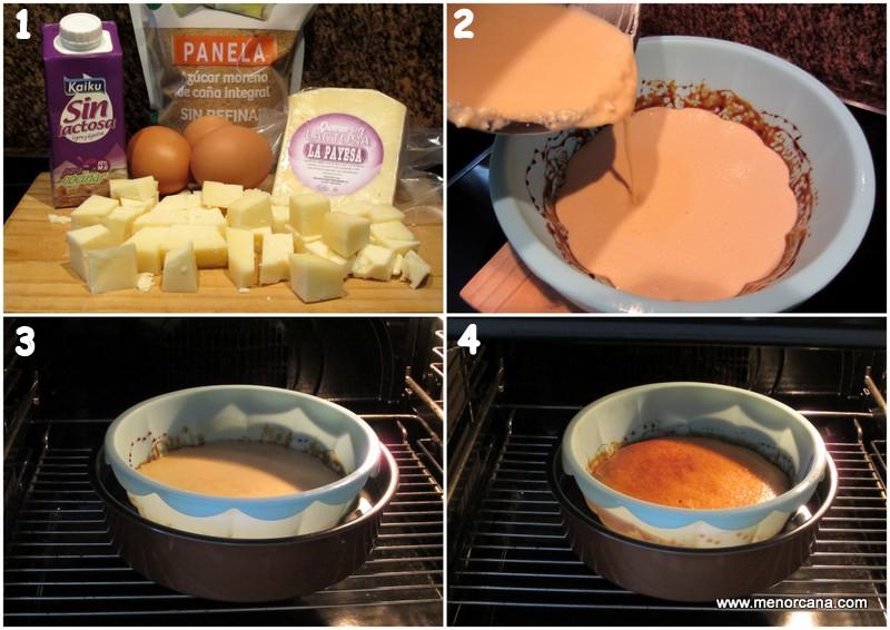como preparar tarta de queso