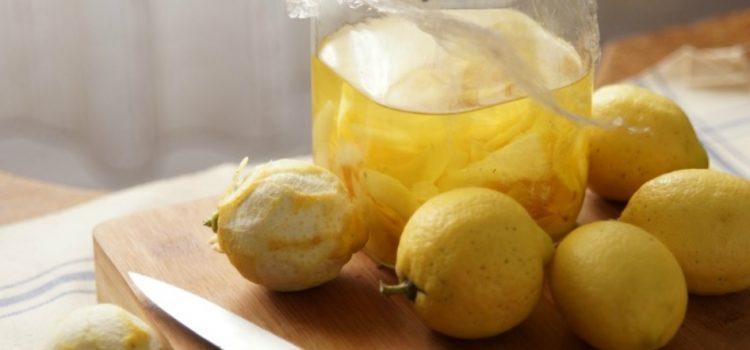 Cómo preparar Limoncello Casero (Con limón de Menorca)