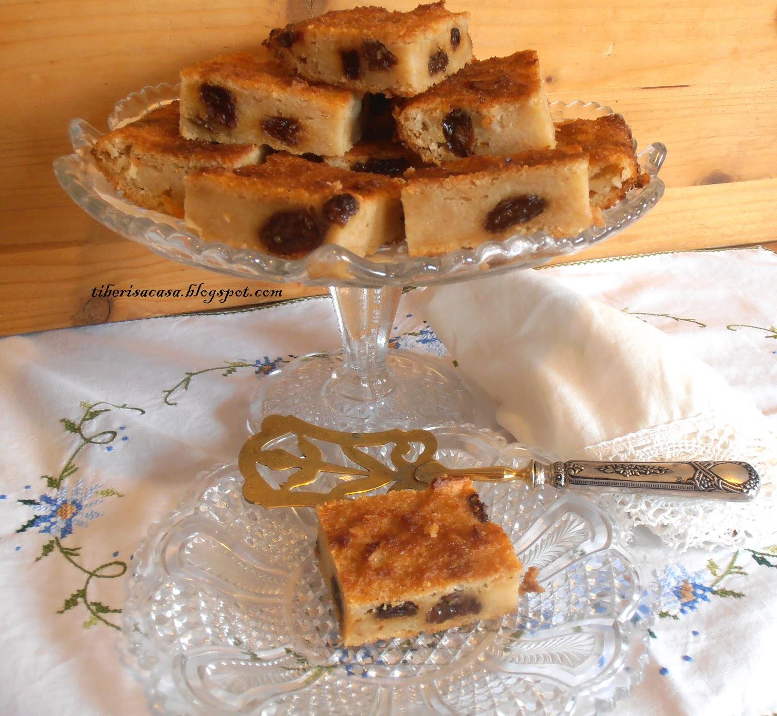 Cómo preparar púding de pan y pasas