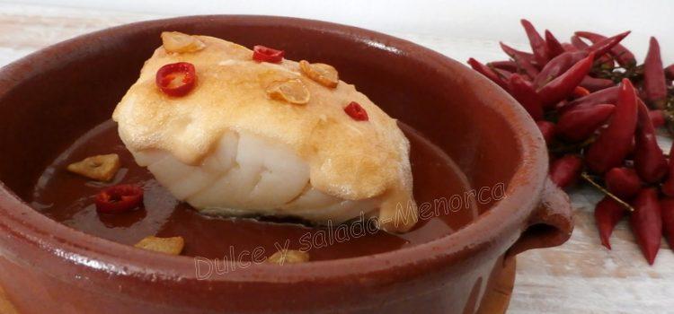 Cómo preparar bacalao gratinado con all i oli