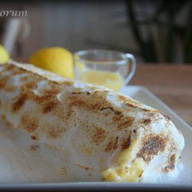 Cómo preparar brazo de gitano relleno de crema de limón