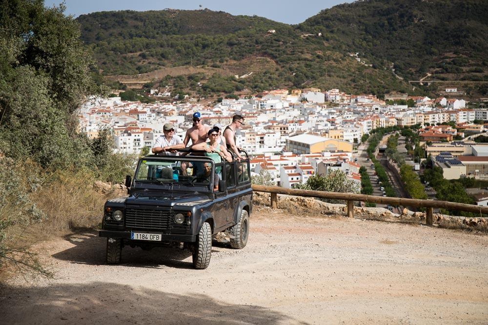 Jeep Safari por la Menorca desconocida