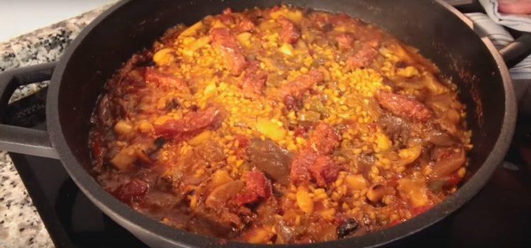 Cómo preparar arroz a la menorquina