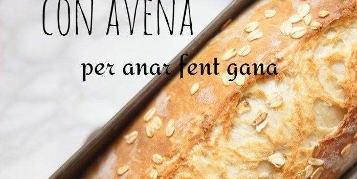Cómo preparar pan de molde con miel de naranjo y avena