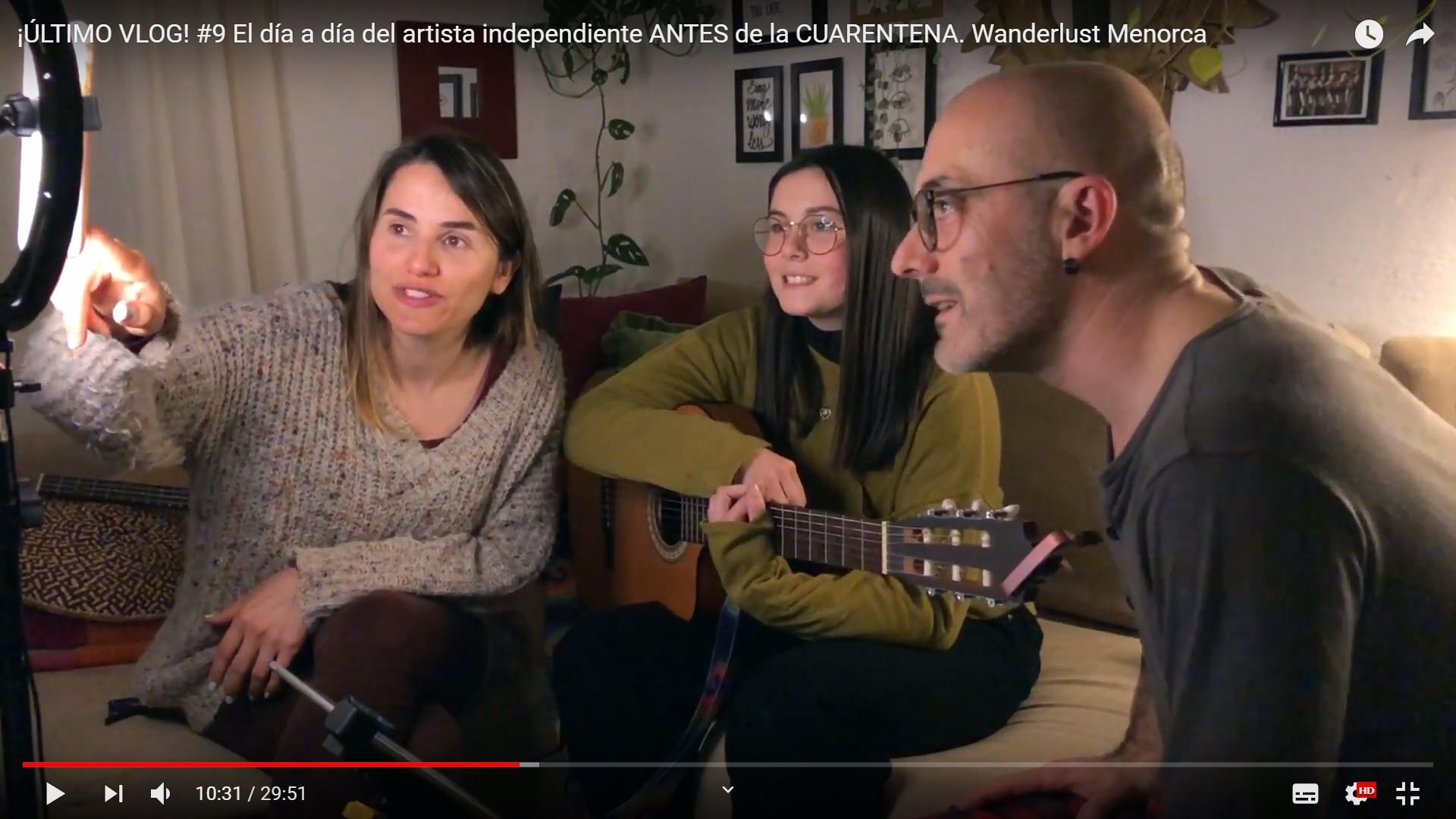 VLOG #9 El día a día del artista independiente ANTES de la CUARENTENA. Wanderlust Menorca