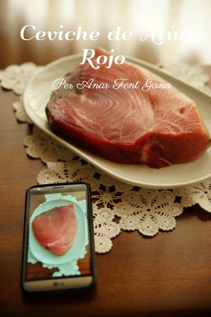Cómo preparar ceviche de atún rojo salvaje