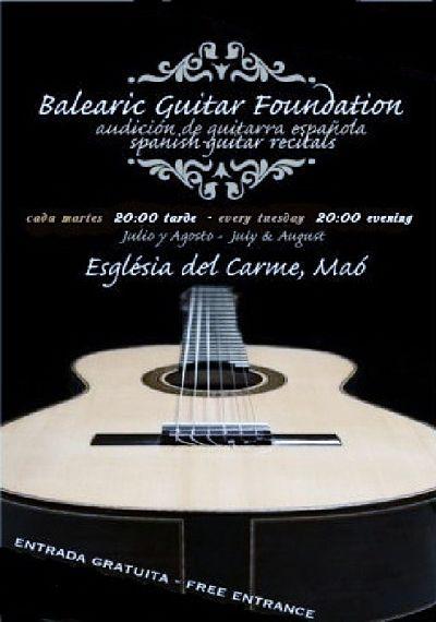 Audición de guitarra española