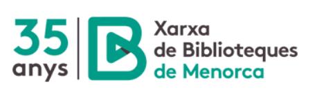 XARXA DE BIBLIOTEQUES DE MENORCA