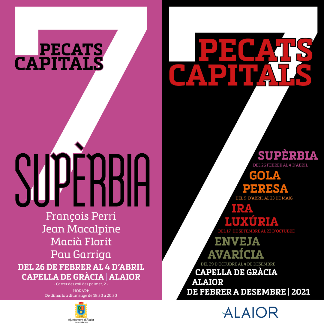 Cicle d'exposicions 7 Pecats Capitals: Supèrbia