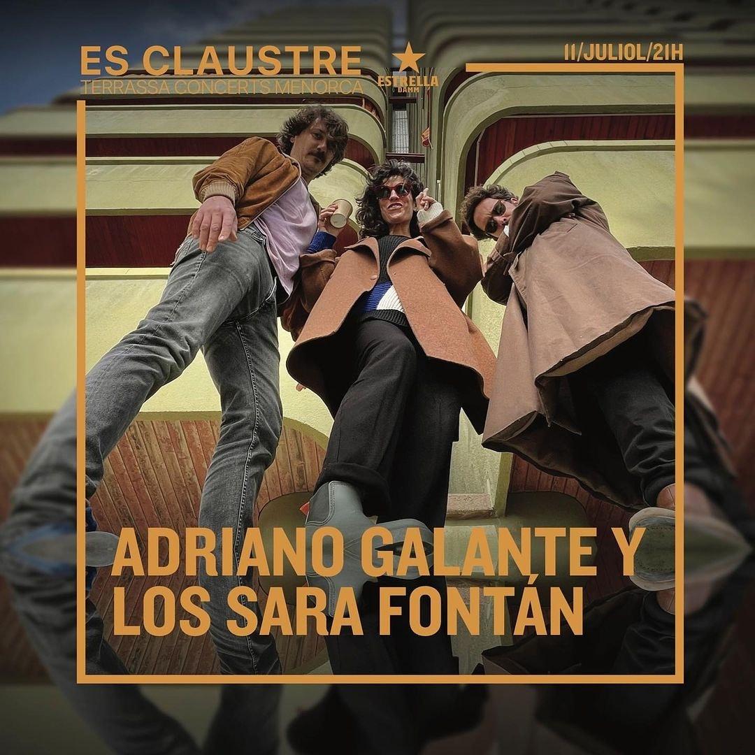 ADRIANO GALANTE Y LOS SARA FONTÁN - ES CLAUSTRE