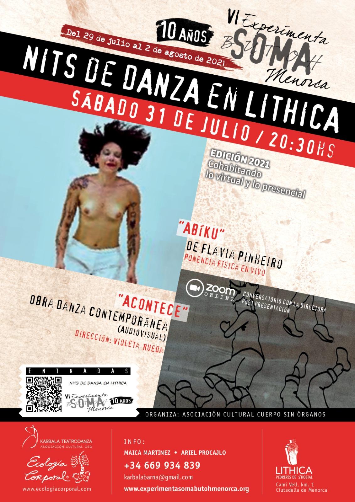NITS DE DANSA - LÍTHICA