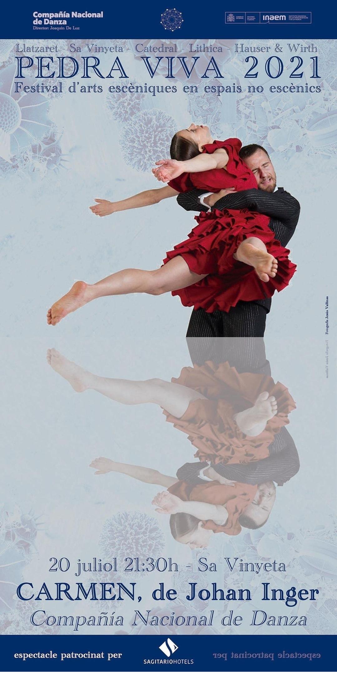 Carmen, de Johan Inger Compañía Nacional de Danza
