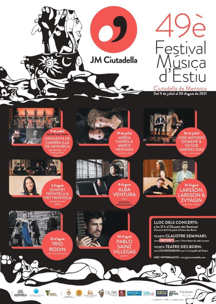 49è Festival de Música d'Estiu - JM Ciutadella