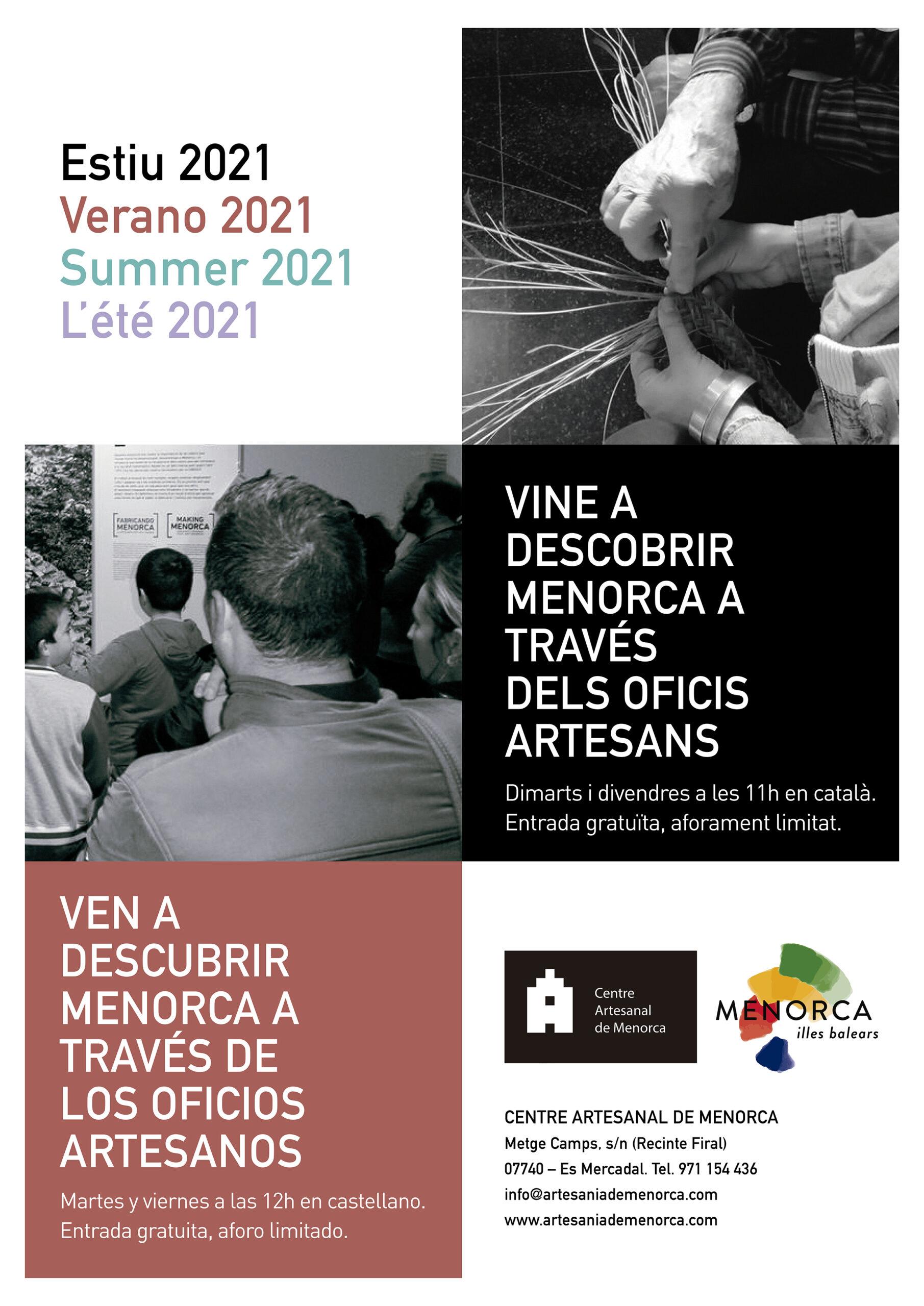 MENORCA A TRAVÉS DE SUS OFICIOS - CENTRE ARTESANAL DE MENORCA
