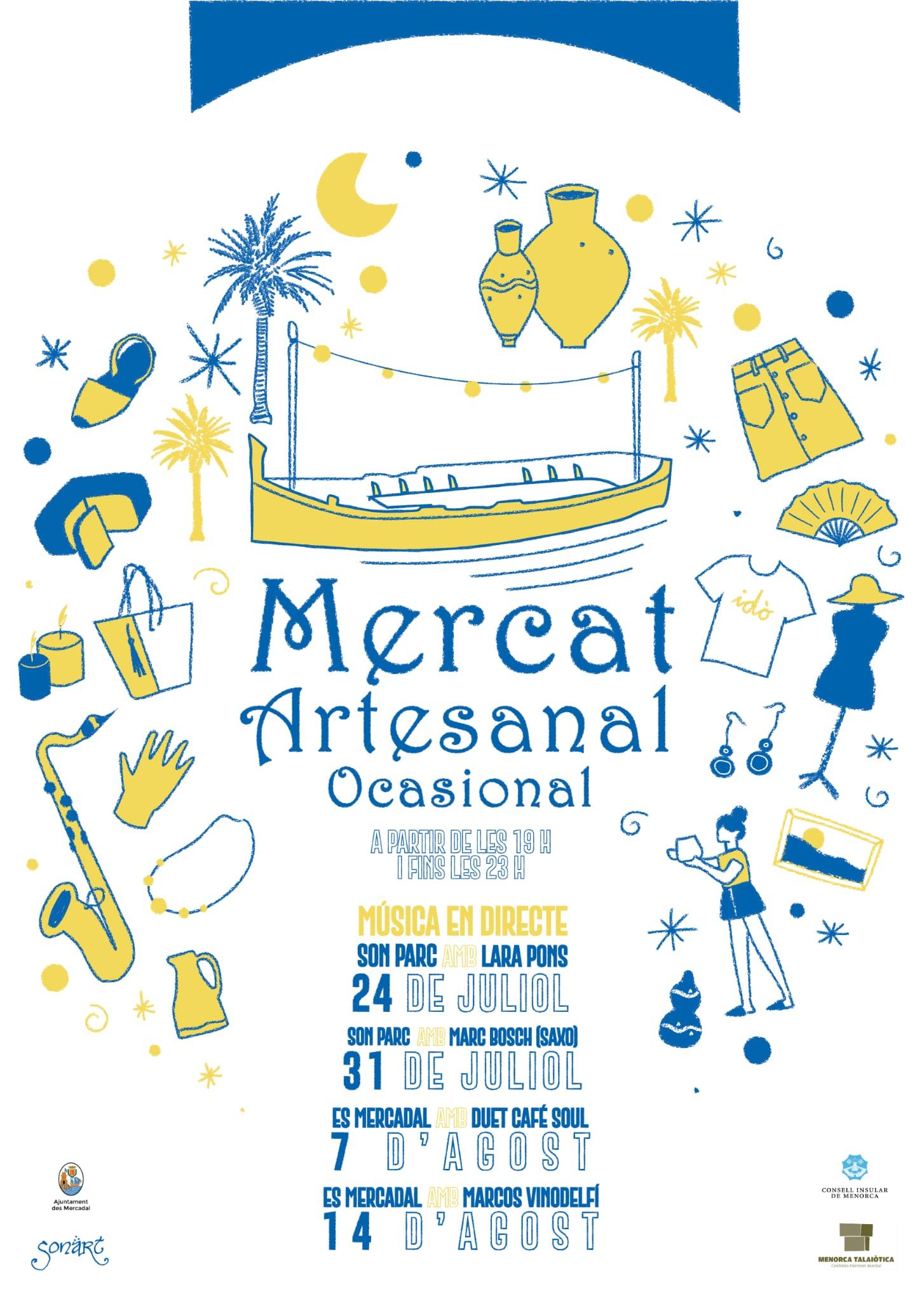 MERCAT ARTESANAL OCASIONAL - MÚSICA EN DIRECTE
