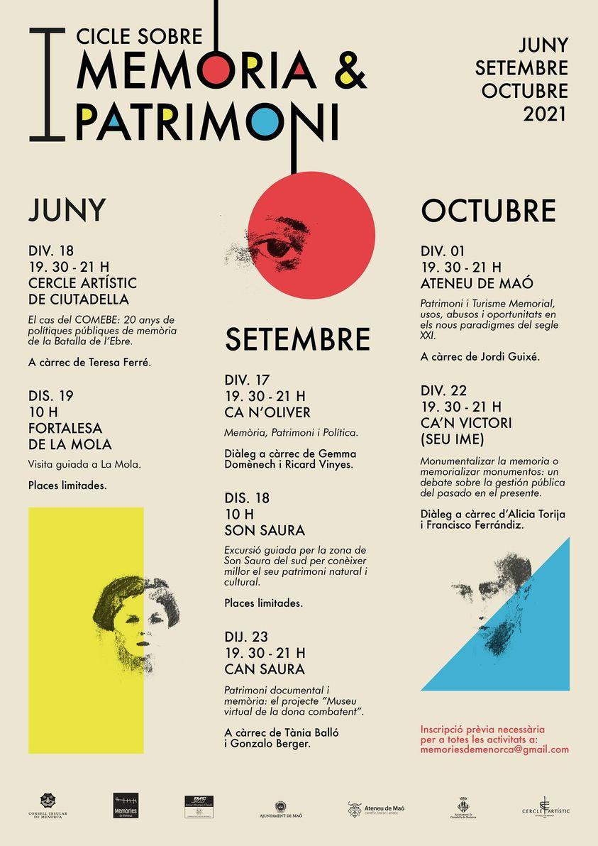 PRIMER CICLO DE MEMORIA Y PATRIMONIO