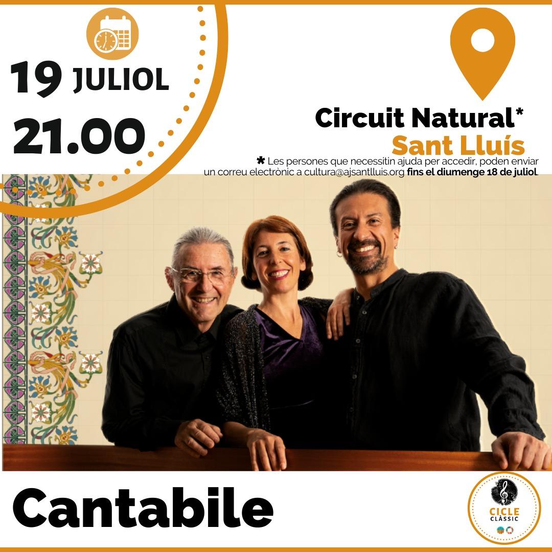 Cantabile - Circuit Natural - Sant Lluis